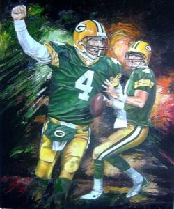 Brett Favre art sketch