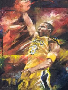 kobe bryant art for sale
