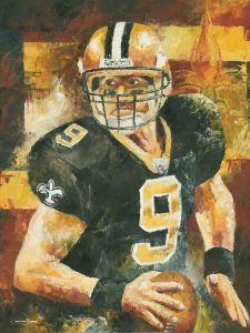 Drew Brees prints for sale