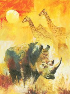 rhino prints art prints paintings